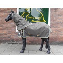 Ruitergilde Outdoordeken 150 grams met halsdeel Paard