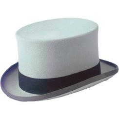 Christys Top hat Grey