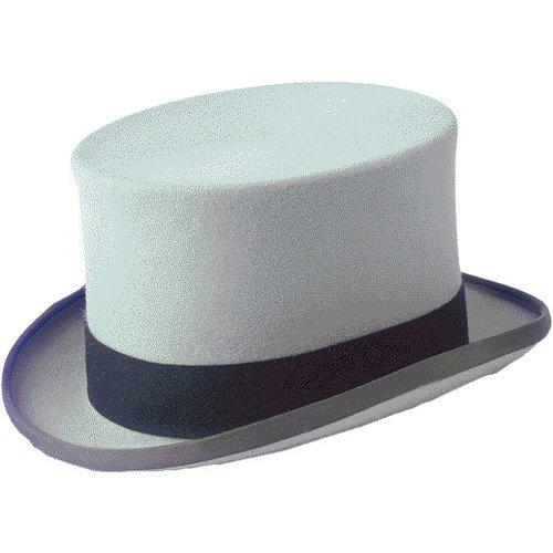 Christys Christys Hoge hoed grijs