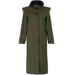 Jack Murphy Malvern ladies long trench Olive