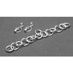 Stainless curb chain