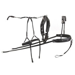 Kieffer Single harness synthetic separate traces Pony