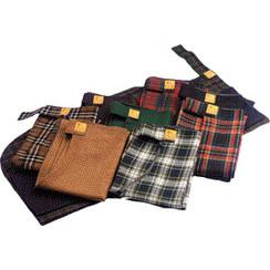 Reversible rain apron Letty's Design check