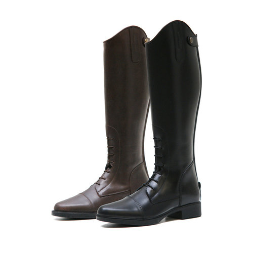 QHP QHP Leather Kinderrijlaars Jildou standard calf size