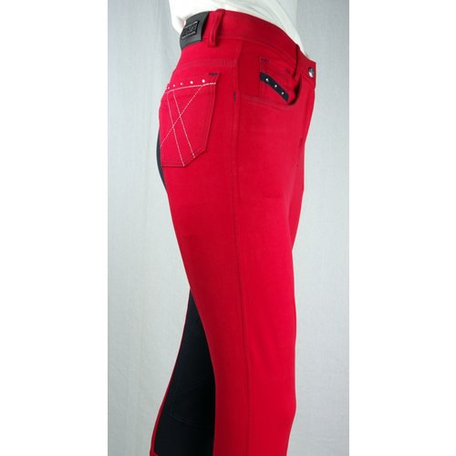 Euro-star Easy Rider Kinderhose Zohra volle Diamant Chilly Red