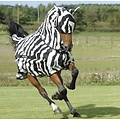 Bucas Bucas Buzz-Off Full Neck Zebra Pony