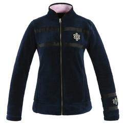 Kingsland Vermillion Fleece jacket Black-Iris