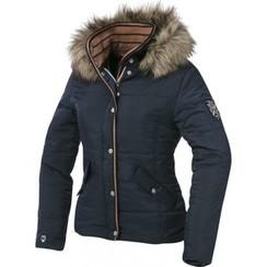 Equitheme padded jacket with hood