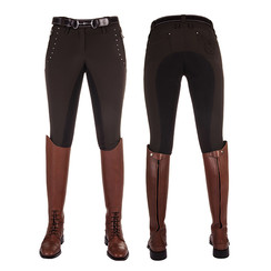 Lauria Garrelli Softshell breeches -Majestic- Studs