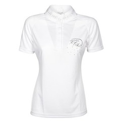 Harry's Horse Competition Shirt Elite Crystal White