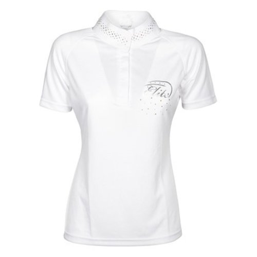 Harry's Horse Harry's Horse Competition Shirt Elite Crystal White