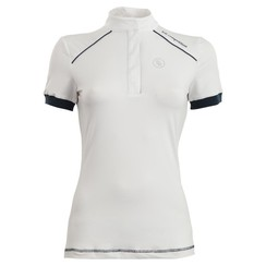 BR Competition Shirt Porto ladies short sleeve white