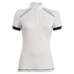 BR-Wettbewerb Hemd Porto Damen kurze Ärmel weiß