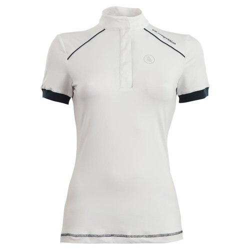 BR BR Competition Shirt Porto ladies short sleeve white