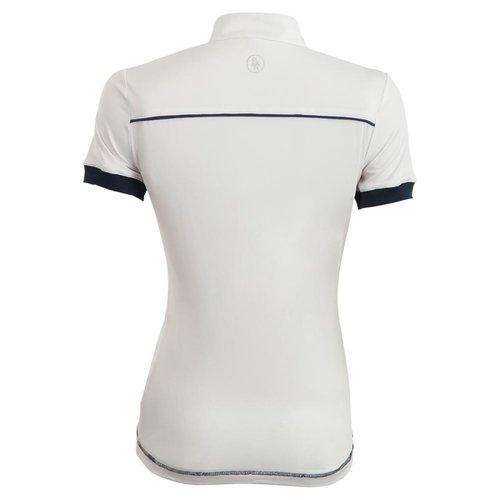 BR BR Wedstrijdshirt Porto dames korte mouw wit