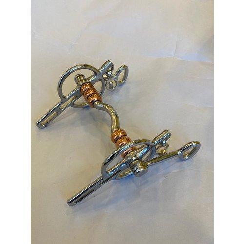 Letty's Design Letty's Design Liverpool scharnier LD met koperen rollers