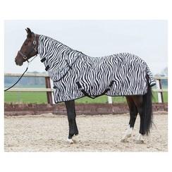 Harry's Horse Flysheet with loose neck zebra