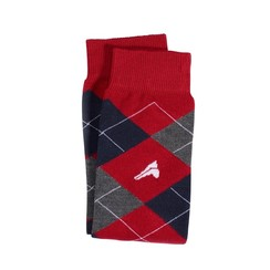 Euro-Star plaid knee socks
