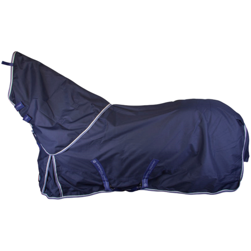 Imperial Riding IR Outdoor Blanket Basic 0 Grams navy WITHOUT neck