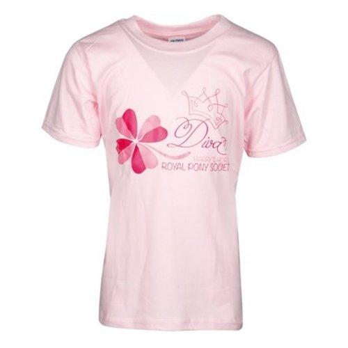 Harry's Horse Harry's Horse T-shirt Diva roze