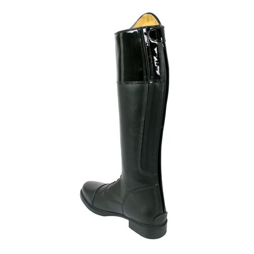 QHP QHP leather riding boot Marcella youth standard  calf size
