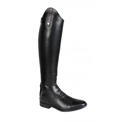 QHP ladies leather riding boot Verena standard and wide calf size