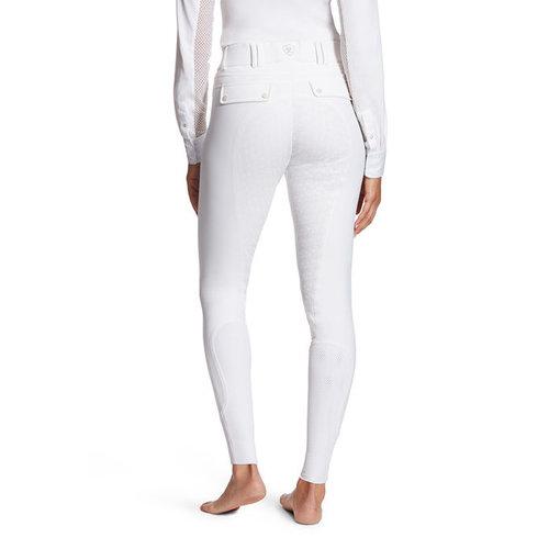 Ariat Ariat Breeches Tri  Factor Grip Fullseat white