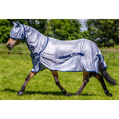 Bucas Pony Buzz-Off Full Neck Blue