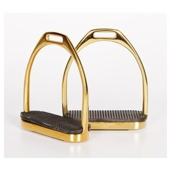 Harry's Horse Stainless Steel Brackets straight gold