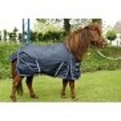 HB Pony Outdoor blanket 200 grams navy