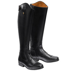"CLEARANCE! EQUI-THÈME leather ladies boot ""Expert with laces"""