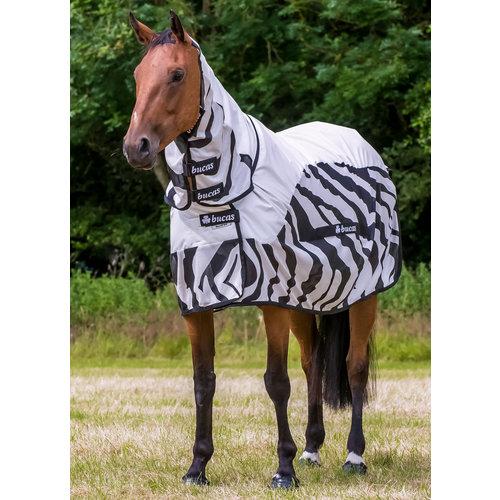 Bucas Bucas Buzz Off Rain Fliegendecke Zebra Full Neck