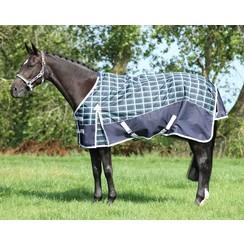 QHP regendeken met fleece voering