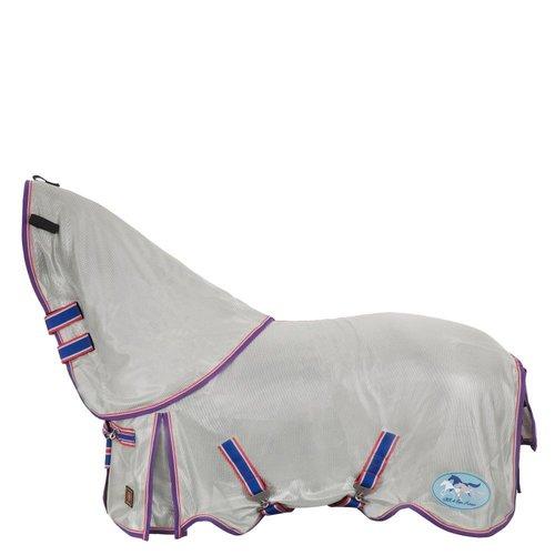BR BR vliegendeken 4-ever Horses met afneembare kap mesh