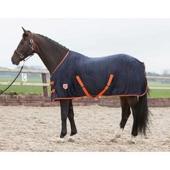 Harry's Horse fleece deken Black Iris