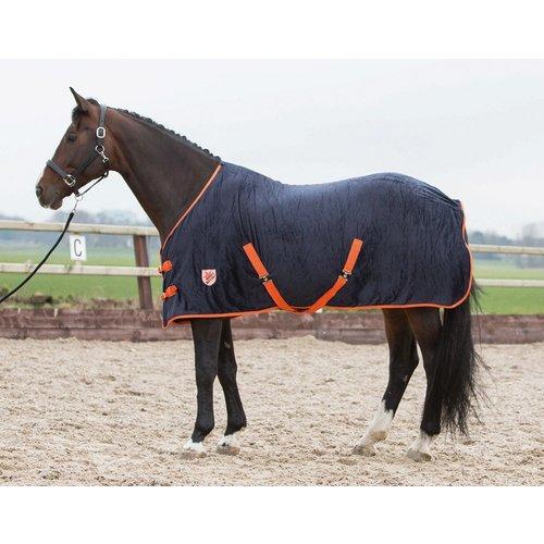 Harry's Horse Harry's Horse fleece deken Black Iris