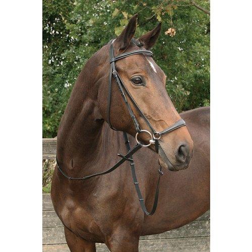 Harry's Horse Harry's Horse hoofdstel Bronze lage neusriem