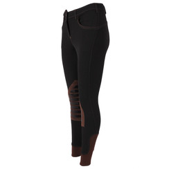 Easy Rider Kids Breeches Abby Grip Knee Black