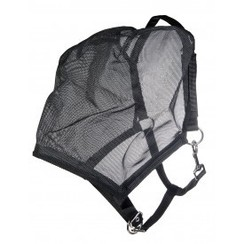 HKM Fly Mask-Black halter