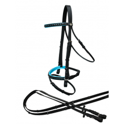 Rider Pro Bridle Punch black