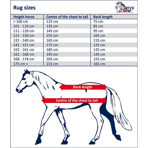Harry's Horse Harry's Horse Stable Teppich Highliner 300 gr Dark Shadow