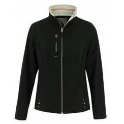 Equithème waterproof jacket, black