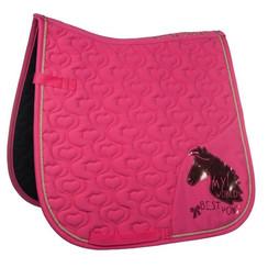 HKM zadeldek My World Best Pony roze