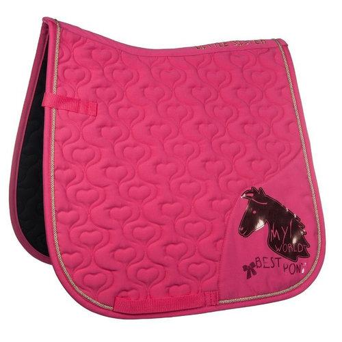 HKM HKM zadeldek My World Best Pony roze