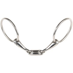 Harry's Horse snaffle double jointed 16 mm