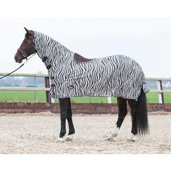 Harry's Horse Pferdezelt Mesh mit Sattelaussparung Grey
