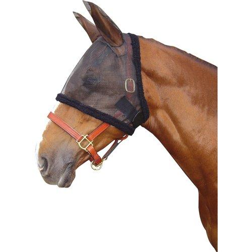 Harry's Horse Harry's Horse Vliegenmasker met oren Zwart
