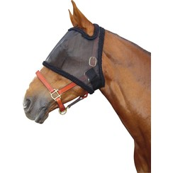 Harrys Pferdefliege Maske ohne Ohren Schwarz