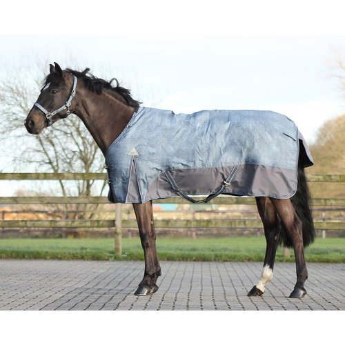 QHP QHP blanket Turnout Luxury 150 grams Graphite