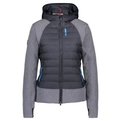 Euro-star Padded jacket Lucia met softshell